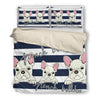 French Bulldog Bedding Set B110