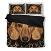 Dachshund Bedding Black Xf Ksnomc2