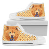 Chow Chow  High Top Women White De30pt
