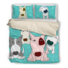 Bull Terrier Bedding Set B76