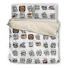 Cat Cute GR 2 Bedding Set 2510t1