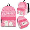 Westie Backpack Bag A36DL