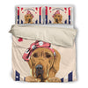 Great Dane Bedding Set White TH30