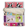 French Bulldog Bedding Set 3010