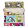 Wolf Bedding Set 3010