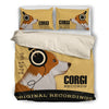 Corgi  2010 Headphones Bedding duvet 1