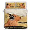 Cocker Spaniel  2010 Headphones Bedding duvet 1