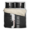 chinese crested Half Face Bedding Set 1610s1