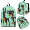 Doberman Backpack Bag A61NTP