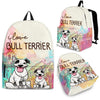 Bull Terrier Backpack Bag Ja03VA
