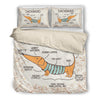 Dachshund Bedding Set C6