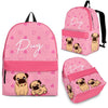 Pug Backpack Bag A10