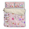Poodle Flower Bedding set VER 1