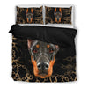 Doberman Bedding Black Xf Ksnomc2