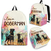 Doberman Backpack Bag Ja03VA