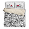 Dalmatian Oh Bedding Set 2410h1