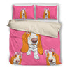 Basset Hound Bedding Set A88