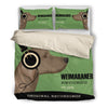 Weimaraner HF Bedding Set 2310s1