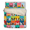 Boston Terrier Bedding Set P45