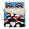 Cat Christmas Bedding set F0