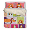 Basset Hound Bedding Set 0111ls1