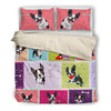 Boston Terrier Bedding Set 2710s1