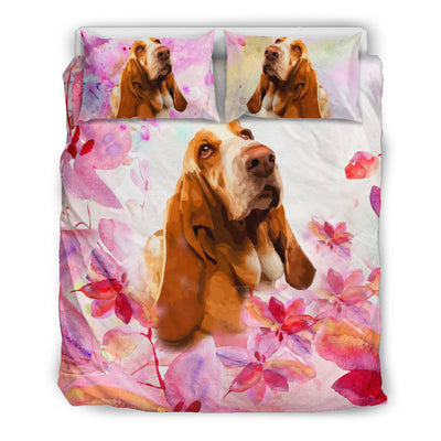 OTTEDESIGN Basset BEDDING SET, BEIGE