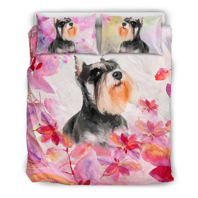 Ottedesign rottweiler bedding set, beige, cherry blossom