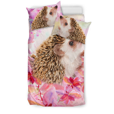 Ottedesign guinea pig bedding set, beige, cherry blossom
