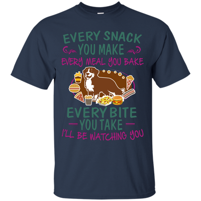 Bernese Mountain Dog Snack Tshirt G200 Gildan Ultra Cotton T-Shirt