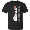 Bull terrier Half-Face Tshirt G200 Gildan Ultra Cotton T-Shirt