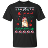 Bulldog Christmas T-shirts G200 Gildan Ultra Cotton T-Shirt