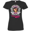 Doberman Nobody's Perfect Tshirt 3516 LAT Ladies' Fine Jersey T-Shirt