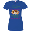 English springer Every Snack Tshirt 3516 LAT Ladies' Fine Jersey T-Shirt