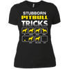 pitbull-stubborn-mug-5-9 NL3900 Next Level Ladies' Boyfriend T-Shirt