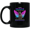 Heaven British Shorthair Cat Black Mug