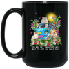 Persian Cat Dreamer Black Mug