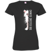 chinese crested Half-Face Tshirt 3516 LAT Ladies' Fine Jersey T-Shirt