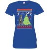 Cane Corso Christmas T-shirts 3516 LAT Ladies' Fine Jersey