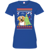 Boxer Christmas T-shirts 3516 LAT Ladies' Fine Jersey