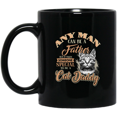 Cat Daddy Mug Black Mug