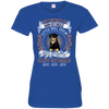 Happy rottweiler Tshirt 1809 VS1 3516 LAT Ladies' Fine Jersey T-Shirt