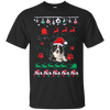 Border Collie Christmas T-shirts G200 Gildan Ultra Cotton T-Shirt