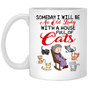 An Old Cat Lady White Mug