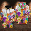 Bichon Multi Hoodie Raglan Zip up PM-DS003 9M