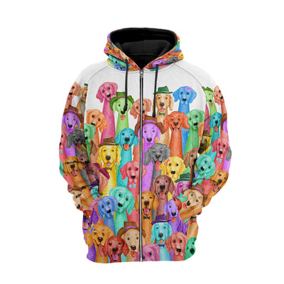 Golden Multi Hoodie Raglan Zip up PM-DS003 9M