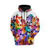 Great Dane Multi Hoodie Raglan Zip up PM-DS003 9M