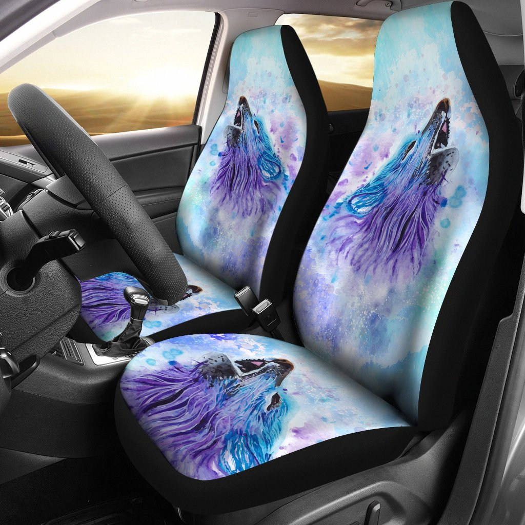Wolf Car Seat Covers 1503VA2