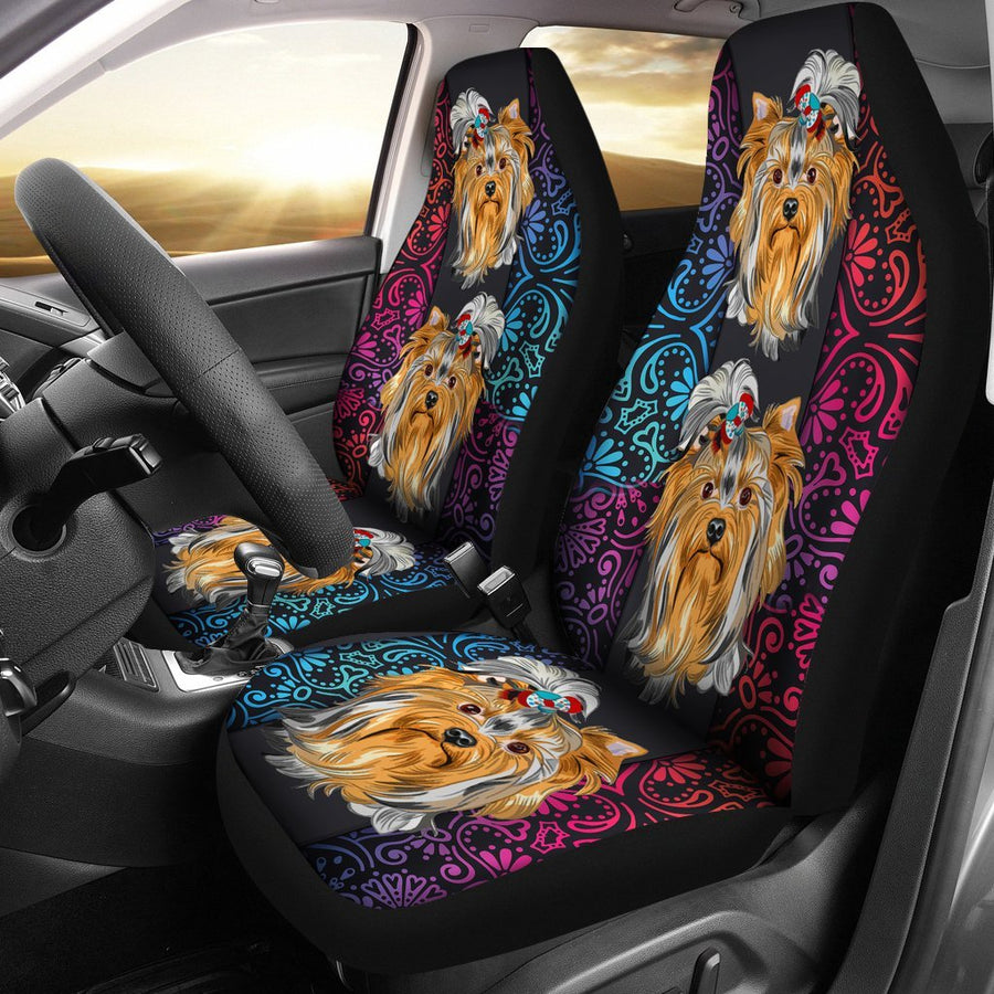 Yorkie Car Seat Covers 0902PM SCDL