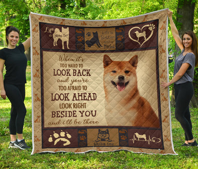 shiba Quiltl ife is dog-PT-DS001